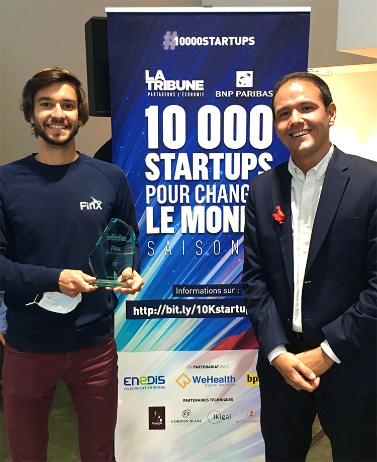 La Tribune récompense FinX, la start-up de Harold Guillemin (ESME Sudria promo 2014) !