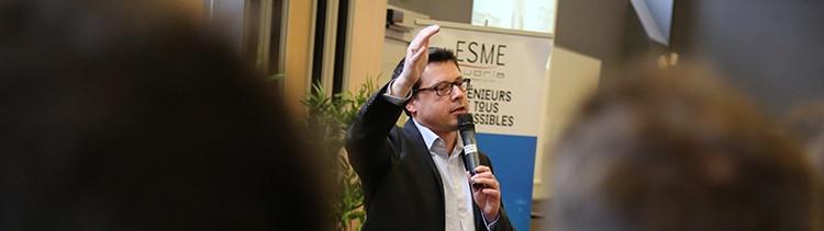 Rencontre avec Cyril Malargé (ESME Sudria promo 1995), CEO France Sopra Steria et parrain de la promotion 2020